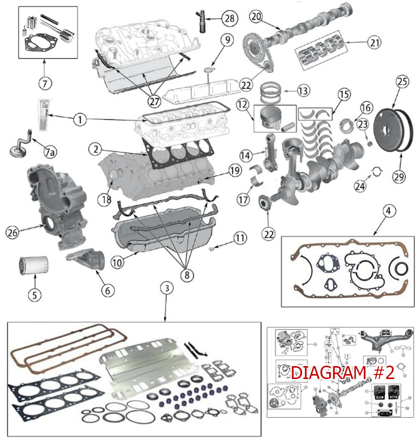 Diagrams For Jeep Engine Parts AMC V8 Engine