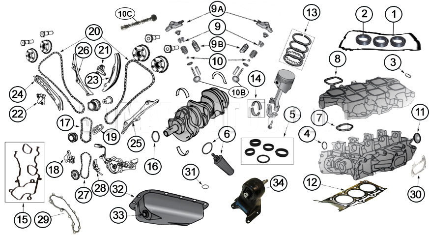 Engine Diagram for 3.6L Enginesomarmotor.com