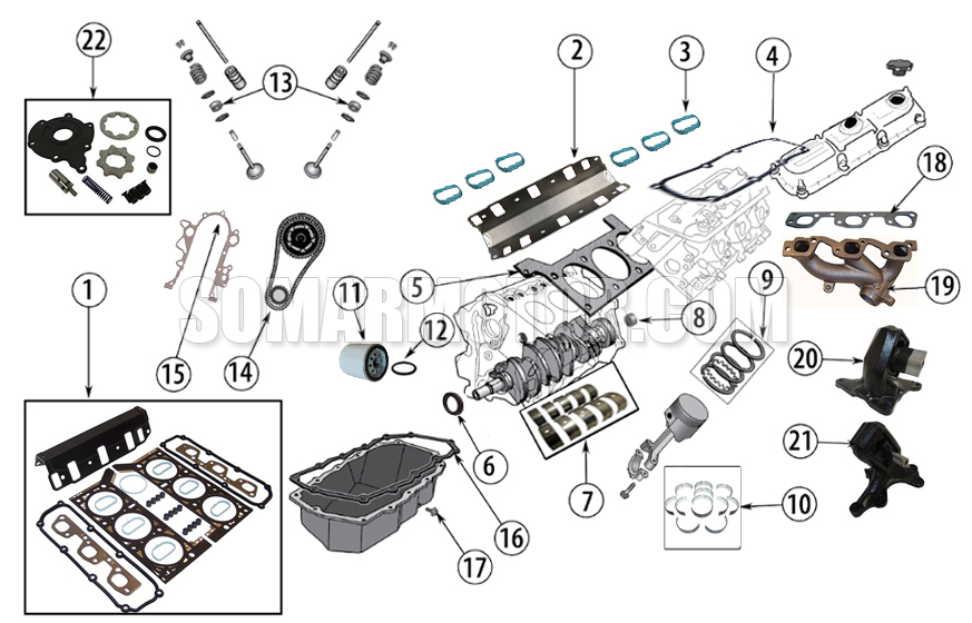 Engine Diagram for 3.8L Enginesomarmotor.com