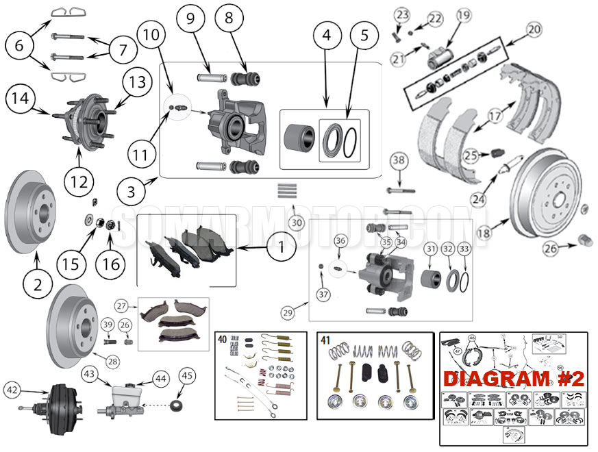 Brake Diagram For Jeep Wrangler Tj  1997