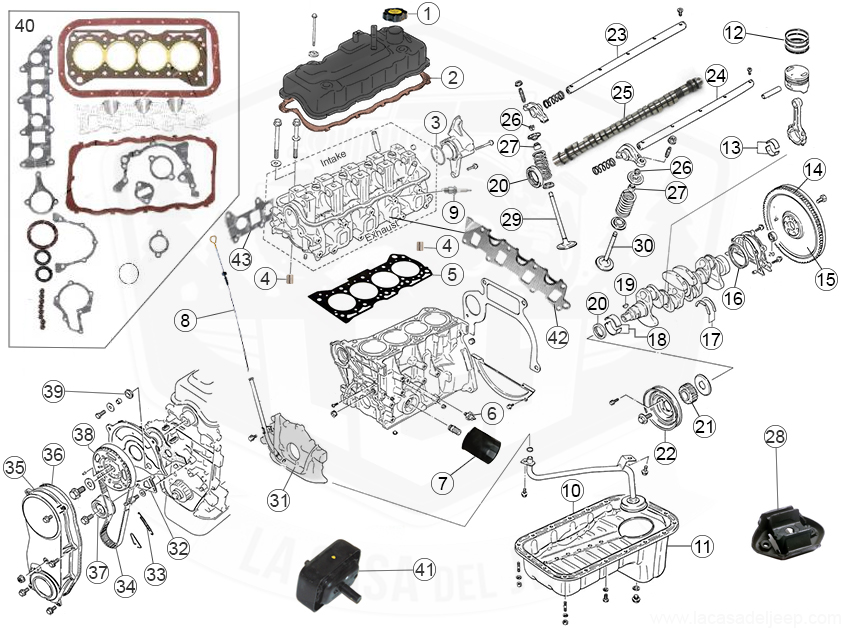 Diagrams For Suzuki    Engine Parts
