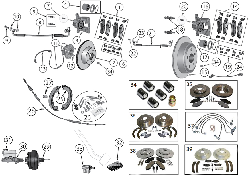 brake diagram for jeep wrangler jk  2007