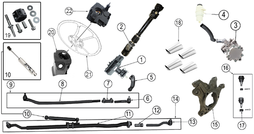 Diagrams    For    Jeep          Steering    Parts    Wrangler JK  20072017