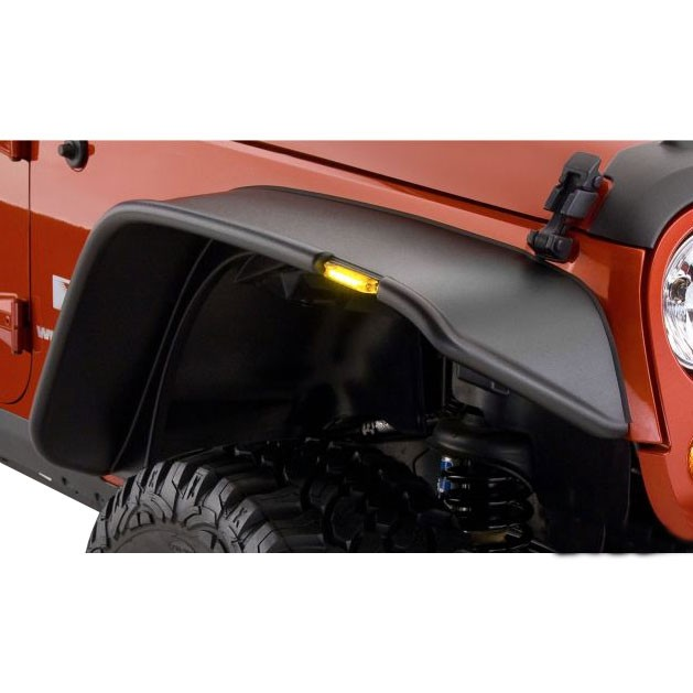 For Jeep Wrangler 2007-2015 Crown Rear Fender Flare Kit