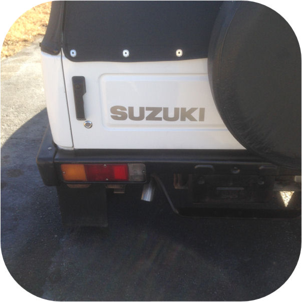 Diagrams For Suzuki Body Parts Oem Tailgate Emblem Suzuki Gray Made In Japan