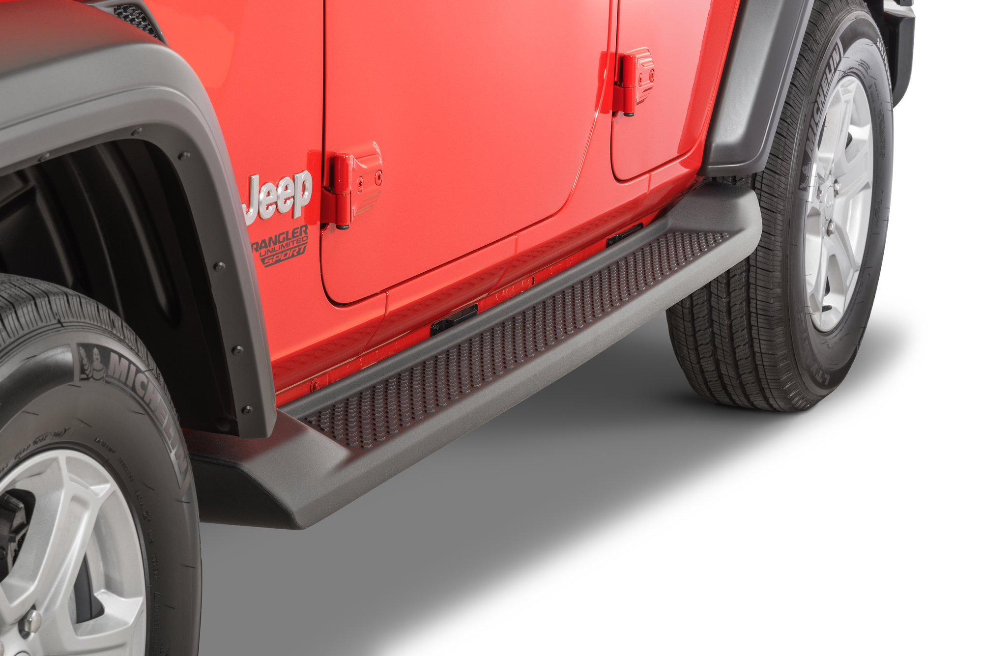 Production Style Side Step 2018 Jeep Wrangler Unlimited