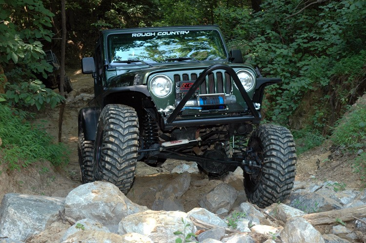 Rough Country 6IN Jeep Suspension Lift Kit Premium N3