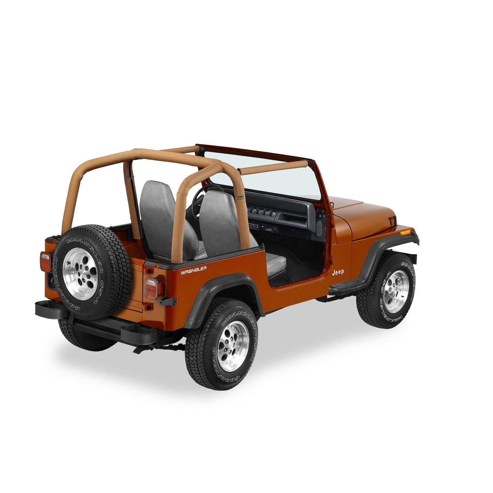 Products 1992 1995 Jeep Wrangler Yj Sport Bar Cover Roll Bar Padding Spice